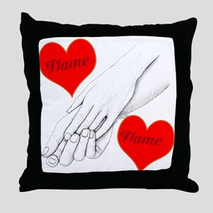 Custom Romance Throw Pillow