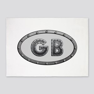 GB Metal 5'x7'Area Rug