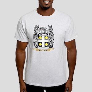 Crosier Family Crest - Crosier Coat of Arm T-Shirt