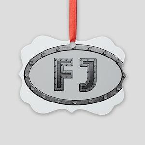 FJ Metal Picture Ornament