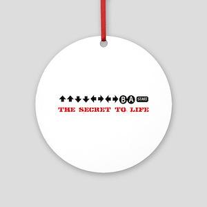 Cheat Code Ornament (Round)