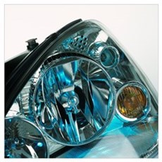 Headlamp assembly Poster