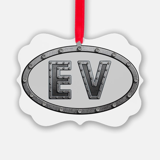 EV Metal Ornament