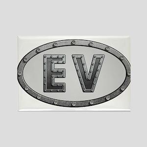 EV Metal Rectangle Magnet