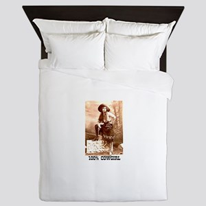 Cowgirl Queen Duvet