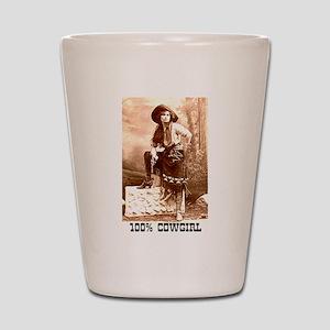 Cowgirl Shot Glass