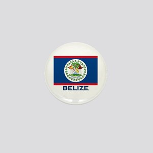 Belize Flag Merchandise Mini Button
