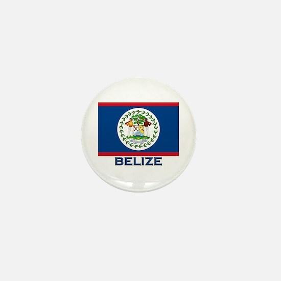 Belize Flag Merchandise Mini Button