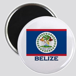 Belize Flag Merchandise Magnet