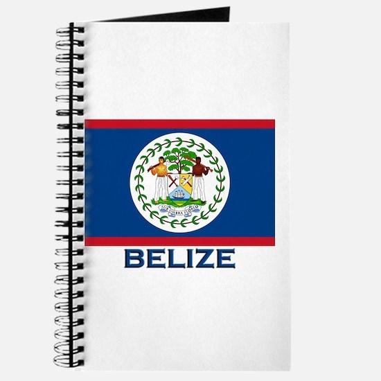 Belize Flag Merchandise Journal