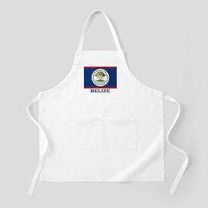 Belize Flag Merchandise BBQ Apron