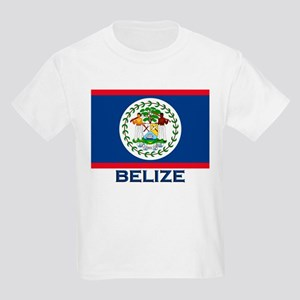 Belize Flag Merchandise Kids T-Shirt