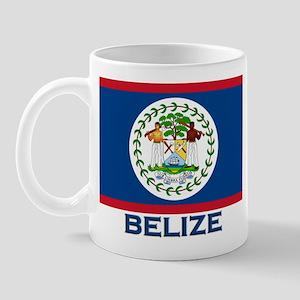 Belize Flag Merchandise Mug