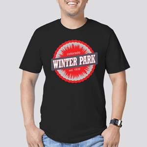 Winter Park Ski Resort Colorado Red Men's Fitted T