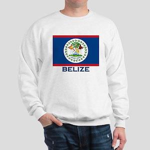 Belize Flag Merchandise Sweatshirt