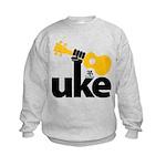 Uke Fist Kids Sweatshirt