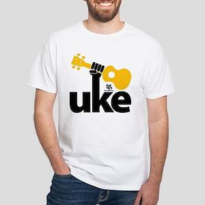 Uke Fist White T-Shirt