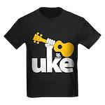 Uke Fist Kids Dark T-Shirt