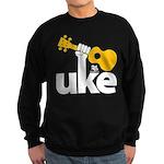 Uke Fist Sweatshirt (dark)