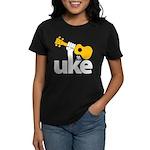 Uke Fist Women's Dark T-Shirt