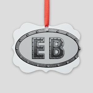 EB Metal Picture Ornament