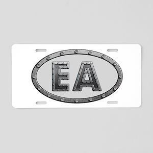 EA Metal Aluminum License Plate