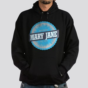 Mary Jane Ski Resort Colorado Sky Blue Hoodie (dar