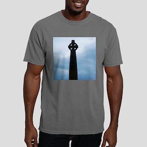 Celtic Cross Mens Comfort Colors Shirt