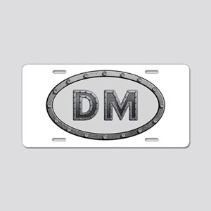 DM Metal Aluminum License Plate