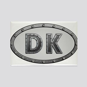 DK Metal Rectangle Magnet