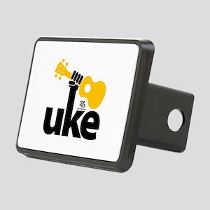 Uke Fist Rectangular Hitch Cover