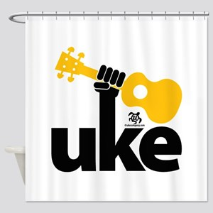 Uke Fist Shower Curtain