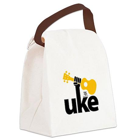 Uke Fist Canvas Lunch Bag