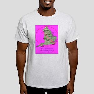 Anti-England Ash Grey T-Shirt