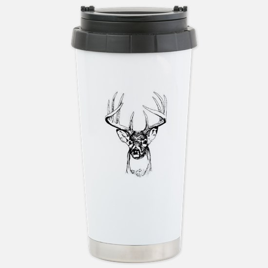Big Buck Stainless Steel Travel Mug