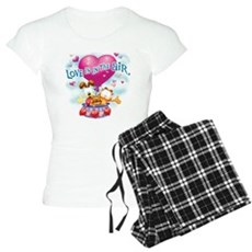 Love is in the Air Women's Light Pajamas