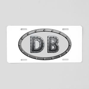 DB Metal Aluminum License Plate