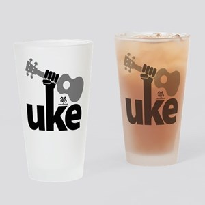 Uke Fist Drinking Glass