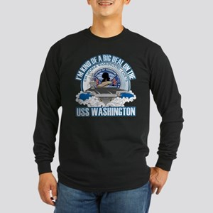 Kind of a Big Deal Long Sleeve Dark T-Shirt
