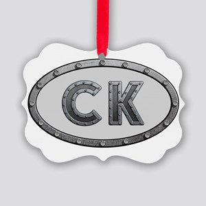 CK Metal Picture Ornament