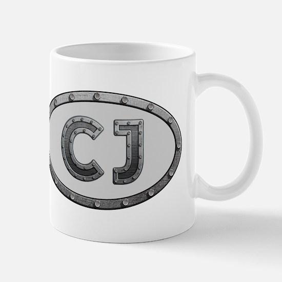 CJ Metal Mug
