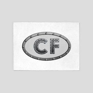 CF Metal 5'x7'Area Rug