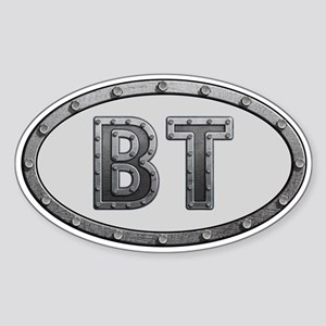 BT Metal Sticker (Oval)