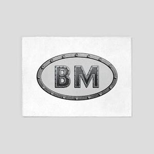 BM Metal 5'x7'Area Rug