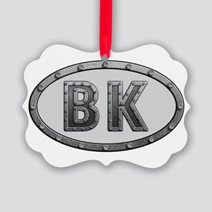BK Metal Picture Ornament