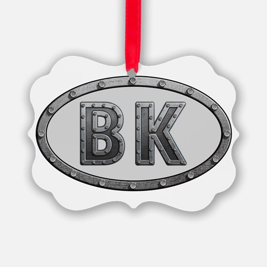 BK Metal Ornament