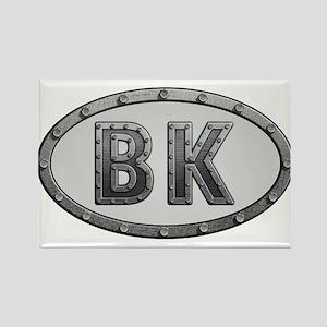 BK Metal Rectangle Magnet