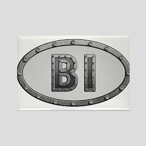 BI Metal Rectangle Magnet
