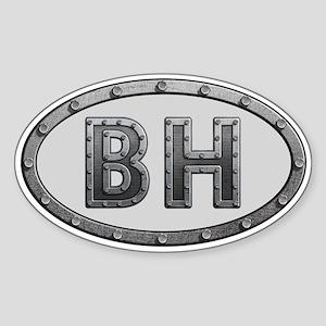 BH Metal Sticker (Oval)