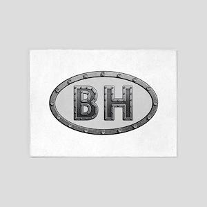 BH Metal 5'x7'Area Rug